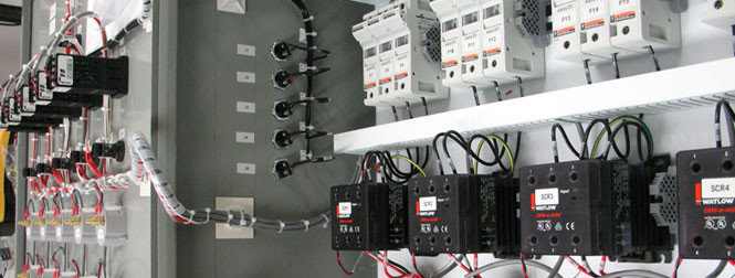 5 zone temperature control panel
