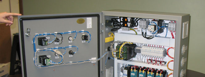 Control Panel with user interface